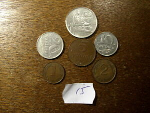 LATVIA OLD  COINS LOT(15)
