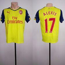 Football shirt soccer FC Arsenal Gunners Away 2014/2015 Puma Kids YXL Alexis #17