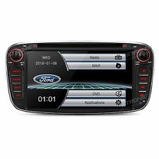 AUTORADIO FORD FOCUS MONDEO GALAXY S-MAX TRANSIT NAVIGATORE GPS DVD BLUETOOTH