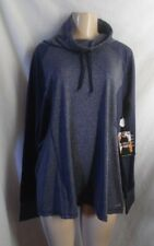 AVIA ELEVATED NECK GRAY TOP ACTIVE WORK OUT JOG REFLECTIVE LONG SLEEVE  XXL 20