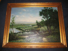 ATTENTION ART EXPERTS! ORIGINAL LANDSCAPE PAINTING UNKNOWN PLEASE HELP IDENTIFY!