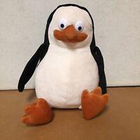"DreamWorks Madagascar Skipper Penguin 12"" Plush Stuffed Animal 2005 EUC AR96"