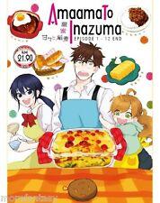 DVD AMAAMA TO INAZUMA VOL.1-12 END_English Sub_Free Shiiping_All Region
