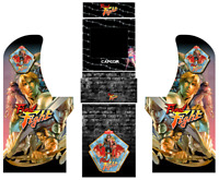 Arcade 1UP Cabinet graphics / artwork full cabinet - Final Fight Theme