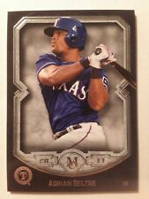 2017 Topps Museum Collection ADRIAN BELTRE #50 Texas Rangers Baseball Card