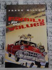Sin City Family Values (1997) Dark Horse - Gn, 1st Edition, Frank Miller, Vf/Nm