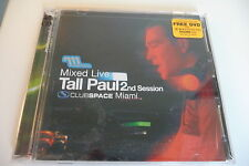MIXED LIVE TALL PAUL 2ND SESSION CLUB SPACE MIAMI CD + DVD .
