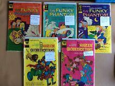 Harlem Globetrotters & The Funky Phantom Comic Books byWhitman/Gold Key Set of 5