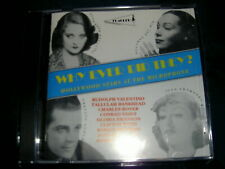 PEARL WHY EVER DID THEY? HOLLYWOOD STARS AT THE MICROPHONE CD Rudolph Valentino