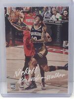 2019-20 Panini Chronicles Luminance #144 Nickeil Alexander Walker RC Pelicans