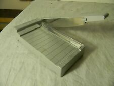 Vintage Showgard Mini Guillotine Stamp Trimmer Cutter