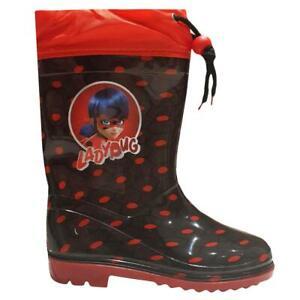 Miraculous Ladybug Kids Boots Wellington Rain and Snow