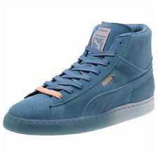 Puma Pink Dolphin Men's US 11, EUR 44.5,10 UK Suede Mid Classic Blue/Pink NEW