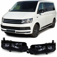 SMOKED FOG LIGHTS FOR VW T6 TRANSPORTER MULTIVAN 04/20015 ONWARDS