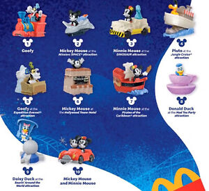 2020 McDONALD'S Disney Mickey Minnie's Runaway Railway HAPPY MEAL TOYS Or Set