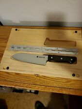 Snow Peak Kitchen Knife with Cutting Plate L CS-208 Camping Cookware NEW
