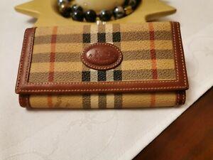 BURBERRY'S vintage women's wallet , STUNNING!!!