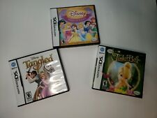 Tangled, Disney Princess Magical Jewels  TinkerB Nintendo DS Lot of 3  Pre Owned