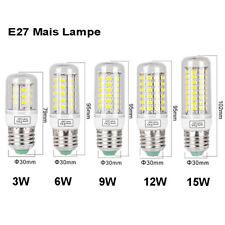 E27 E14 B22 G9 5730 LED Glühbirne Birne Mais Licht Leuchtmittel 9W 12W 15W Lampe