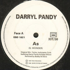 DARRYL PANDY - As / Love Can't Turn Around - Euro States Of Dance