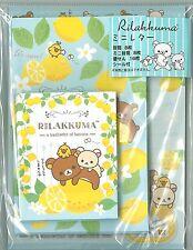 San-X Rilakkuma Mini Letter set Writing letter Envelope Sticker LH51601