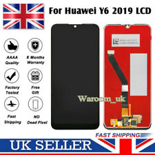 For Huawei Y6 2019 LCD Touch Screen Digitizer Assembly Black Replacement Glass