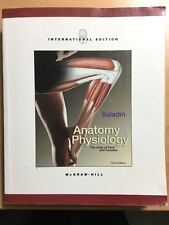 McGraw-Hill Anatomy & Physiology Saladin - Third Edition - Good used condition