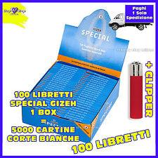 5000 Cartine GIZEH SPECIAL Extra fine  CORTE  bianche  - 1 box