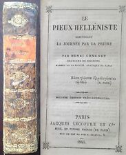 Congnet 1845 pieux helléniste latin-grec Soissons
