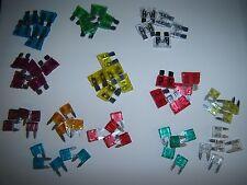 (65) ATC & ATM Car Automotive Fuse Combo Pack 5,10,15,20,25,30,40 Amp 5 of Each
