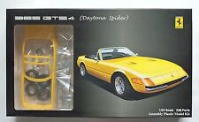 FUJIMI 1/24 Ferrari 365 GTS4 Daytona Spider yellow enthusiast model scale kit