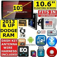 "2013 AND UP RAM 10.6"" NAVIGATION CD/DVD BLUETOOTH USB CAR RADIO STEREO PKG"