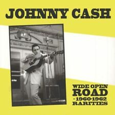LP Johnny Cash Wide Open Road –1960-62 Rarities  Live May 21st 1955 + SUN DEMOS