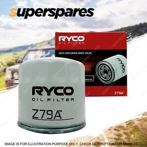 Ryco Oil Filter for KIA CERATO LD TD YD Grand Carnival VQ Magentis MG