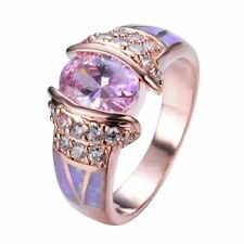 Rose Gold Plated Fashion Rings