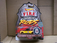 2000 Hot Wheels Fire Department Rods  San Ramon, CA 1940 Ford  MOC