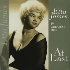 Etta James AT LAST 19 GREATEST HITS 180g Best Of NEW SEALED Vinyl Passion LP