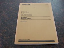 CAT CATERPILLAR AP-800C ASPHALT PAVER PARTS BOOK MANUAL S/N 1PM1-UP