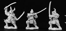 Samurai Warriors Reaper Miniatures Dark Heaven Legends Fighters Melee O-yoroi