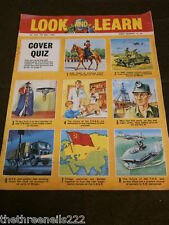 LOOK and LEARN # 225 - COVER QUIZ - MAY 7 1966
