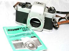 Revueflex 1001 35mm SLR film camera body with manual