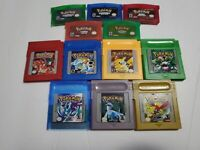 Pokemon Red Blue Yellow Green Crystal Emerald Sapphire Ruby Leaf Gameboy GBA GBC