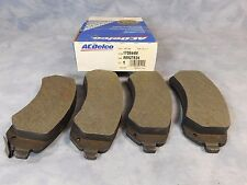 88927524 NEW OEM GM ACDELCO 17D844M DISC BREAK PAD KIT PONTIAC AZTEK