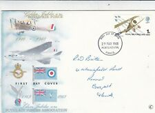 GB 1968 Royal Air Force Golden Jubilee Connoisseur FDC Portsmouth Cancel VGC