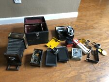 Antique Wood Agfa View Camera Large Lot