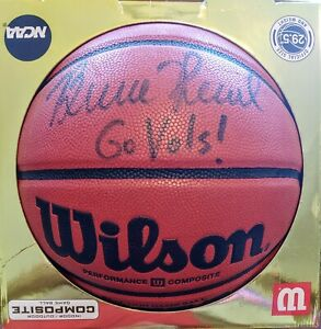 "Bruce Pearl Signed Basketball With ""Go Vols"" Inscription Tennessee Volunteers"