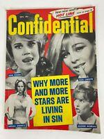 Vintage Confidential Magazine October 1966 Jane Fonda Christie Andress Moreau