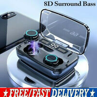 Cuffie TWS Bluetooth5.0 auricolari In-Ear invisibili con scatola di ricarica MIC