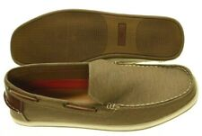 1625a42d08e NIB - JOSEPH ABBOUD Men s  JAIVAN  Light Brown FABRIC BOAT SHOES ...
