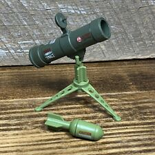 1984 GI JOE ARAH  BIVOUAC Rocket Launcher & Tripod w/ Rocket & Stickers